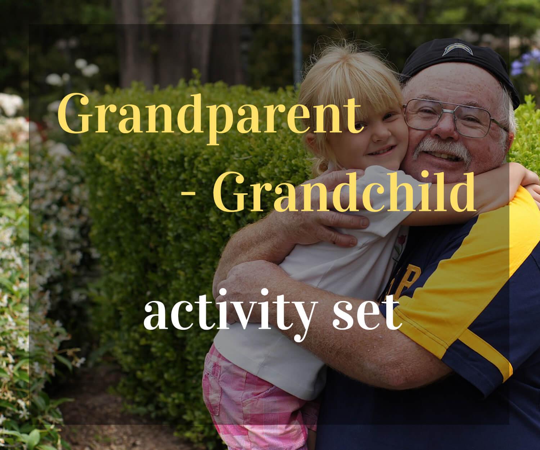 GRANDPARENT-GRANDCHILD ACTIVITY SET