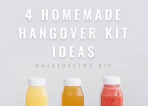 homemade hangover kits