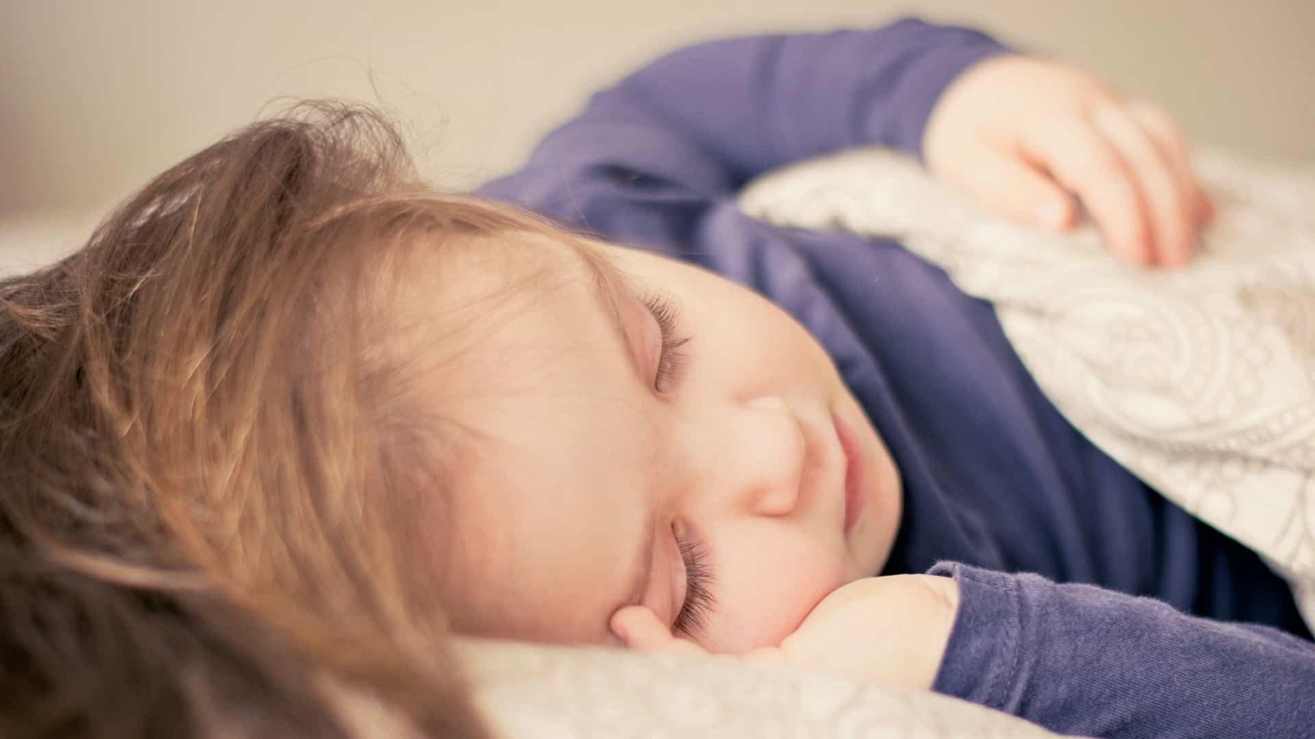Teenage sleeping