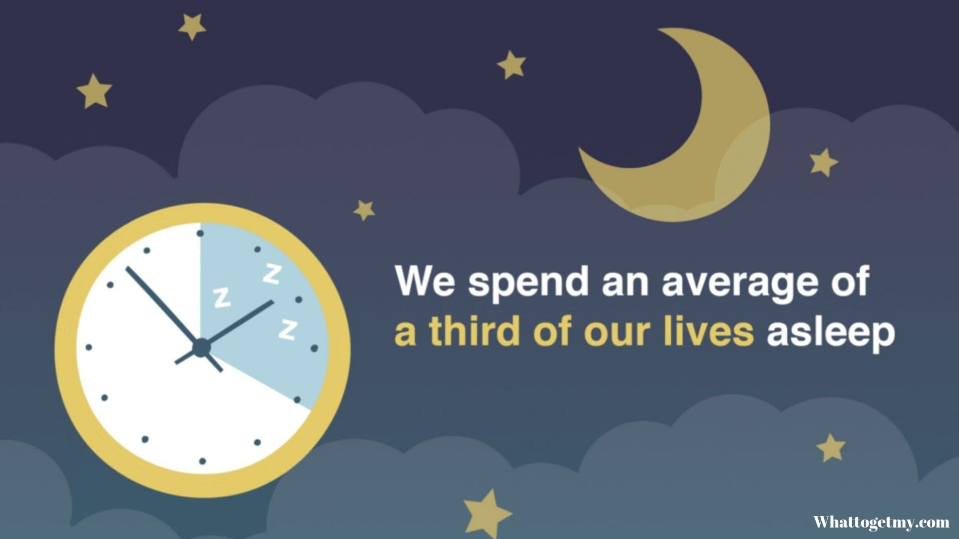 We spend nearly a third of our lives asleep