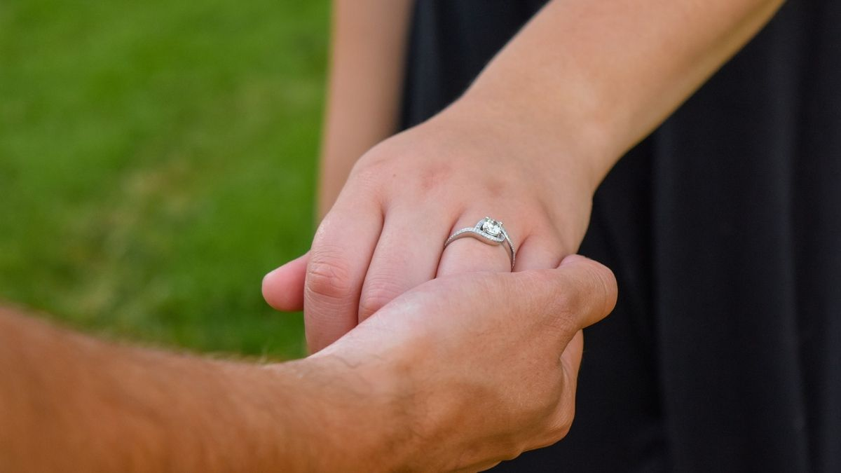 Man and Woman Ring Jewelry Gift