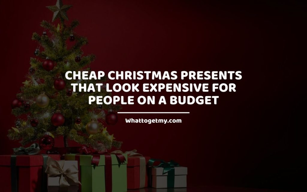 Cheap Christmas Presents That Look Expensive For People on a Budget whattogetmy