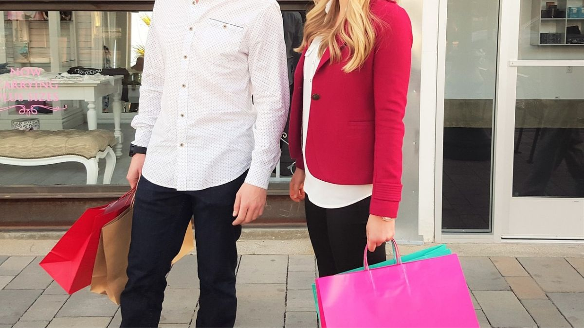 While Shopping Together