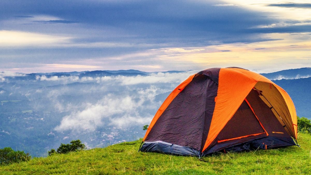 Camping In The Mountains with your loving person boyfriend