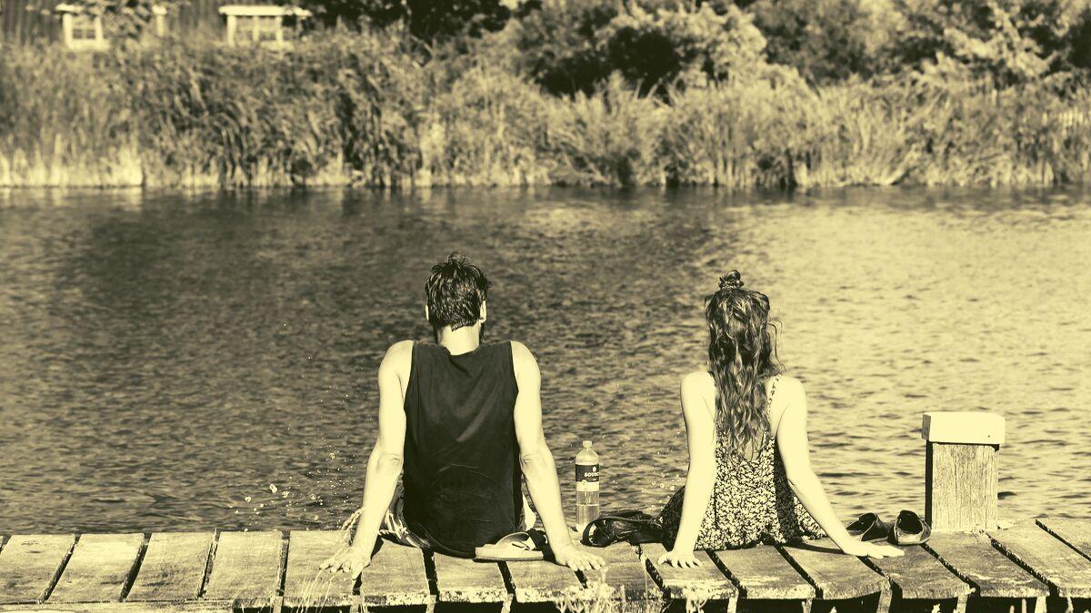River tubing with boyfriend