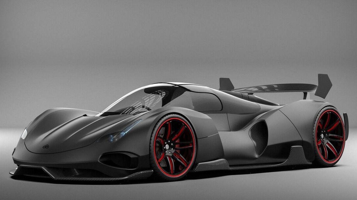 Track test driving Ferrari