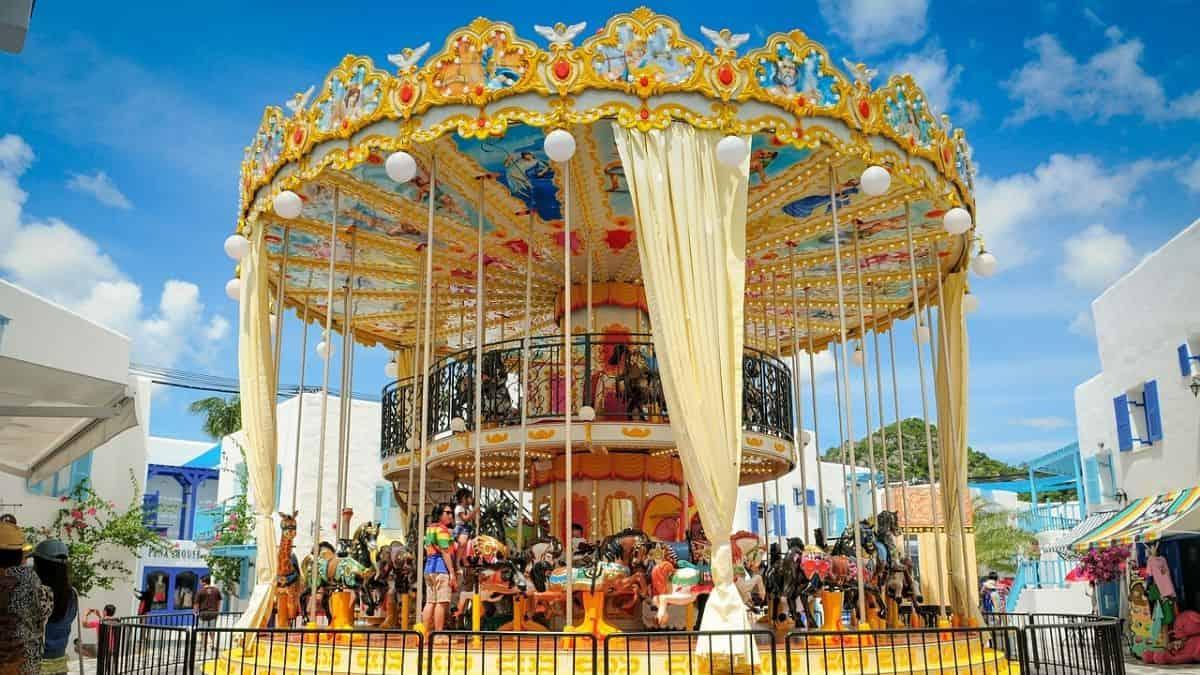 visit to an  Amusement Parks