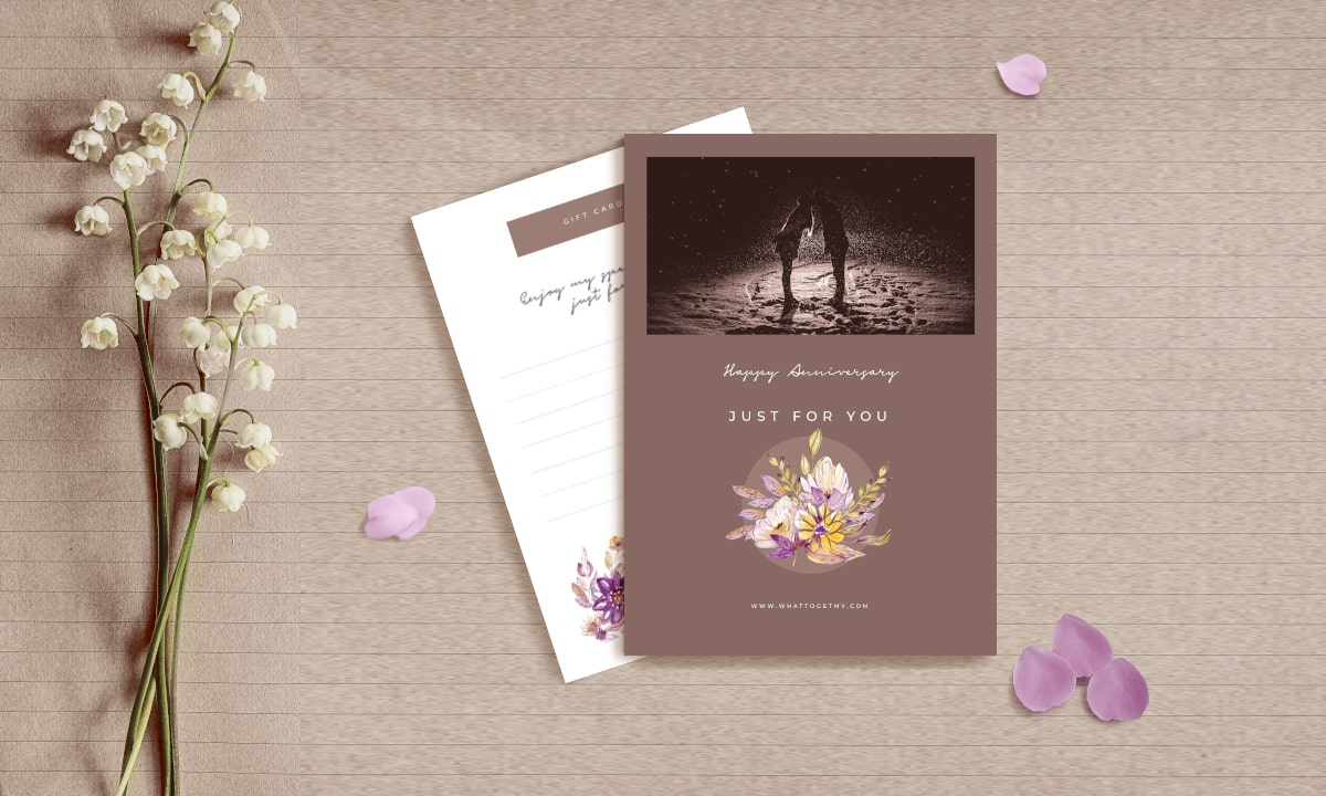 Anniversary Printable Card For Free Download