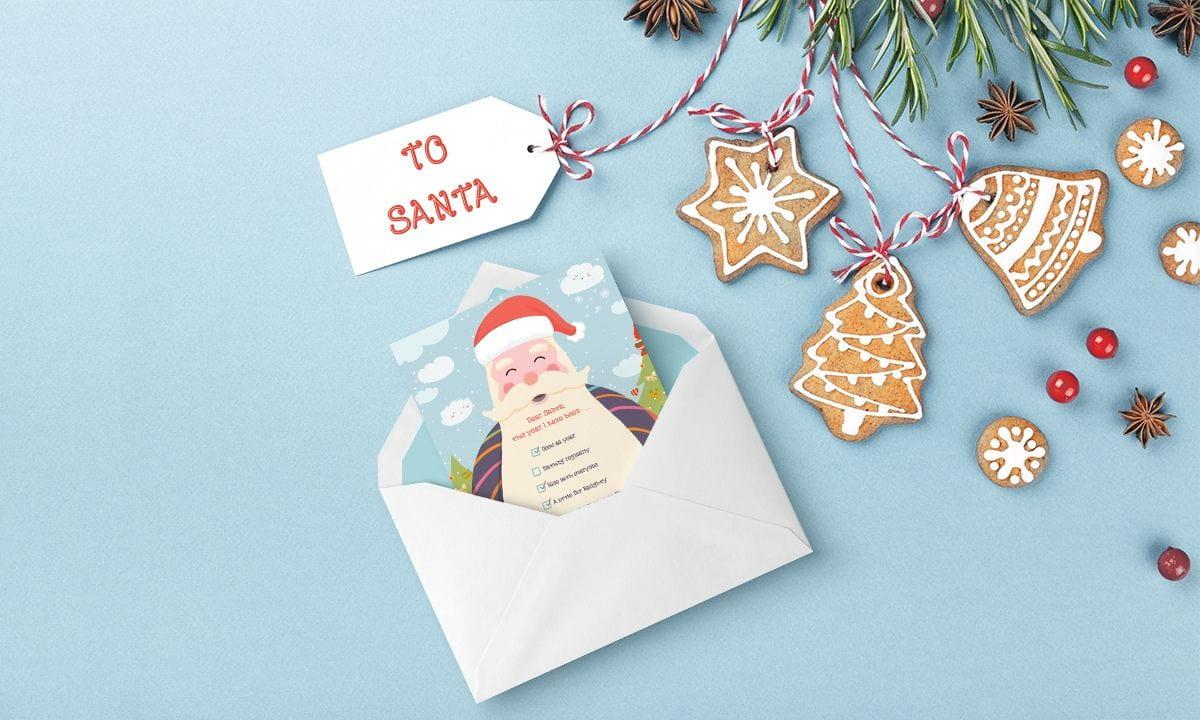 Free Printable Secret Santa Card For your baby, child, girl, boy