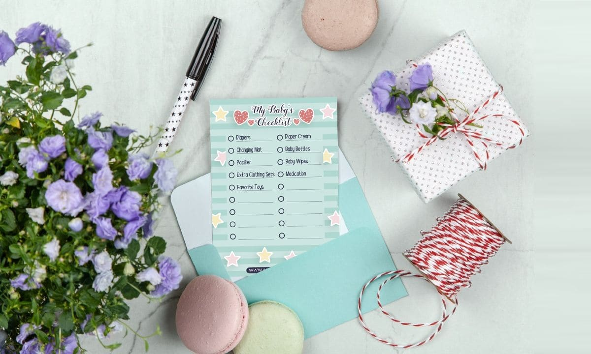 Download This Free PrintableCard For New Mum