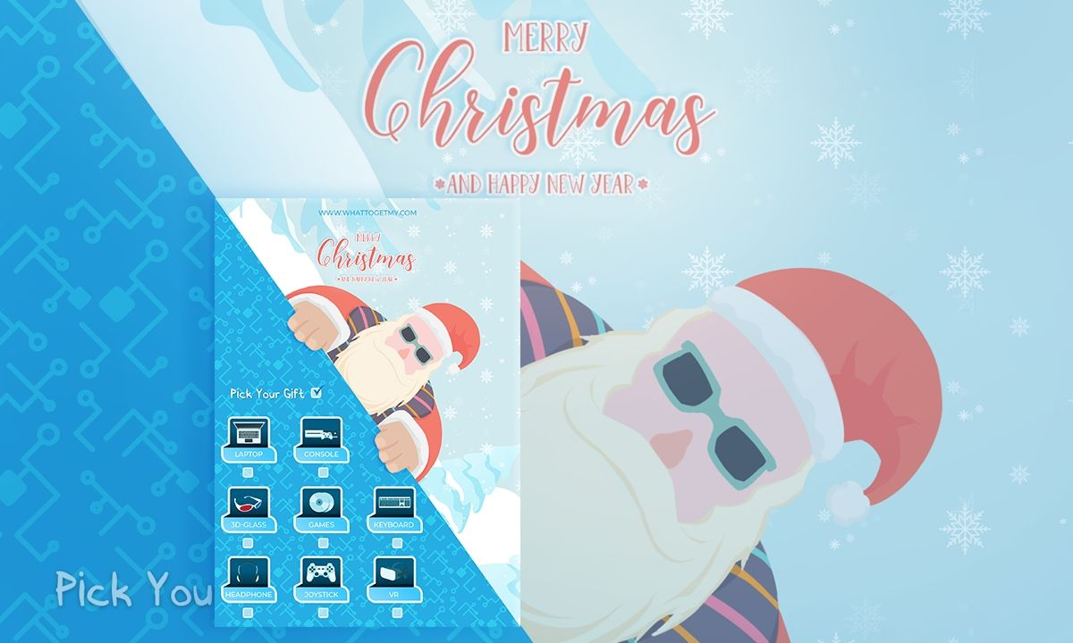 Download This Free PrintableChristmas & New Year Wishes Card For Your Husband