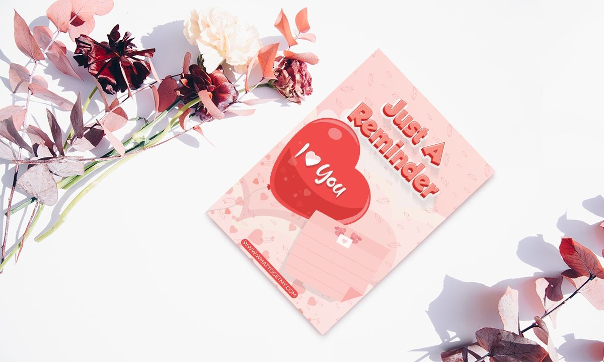 Download This Free PrintableI Love You Card For Your Love