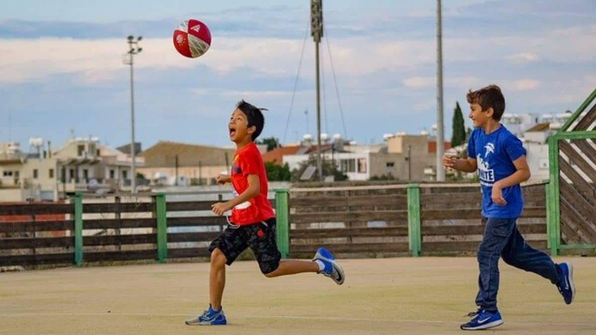 Playing Sports with 10 year old boy