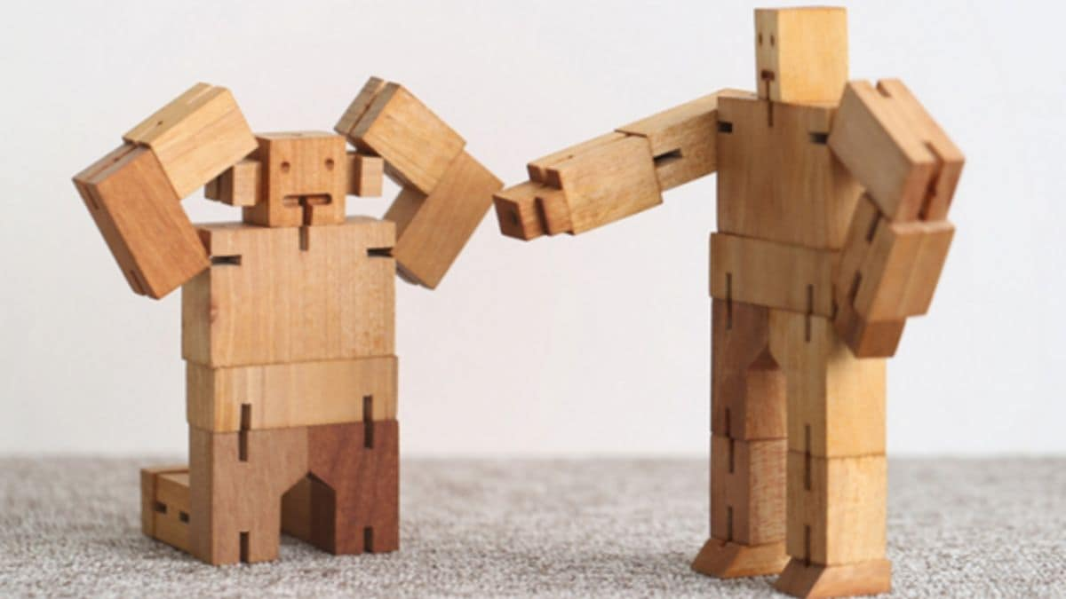 wood robot for 10 years old boy
