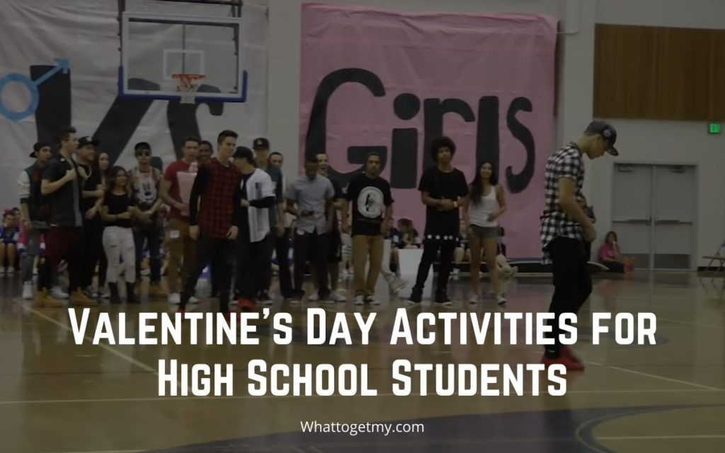 Valentine's Day Activities for High School Students