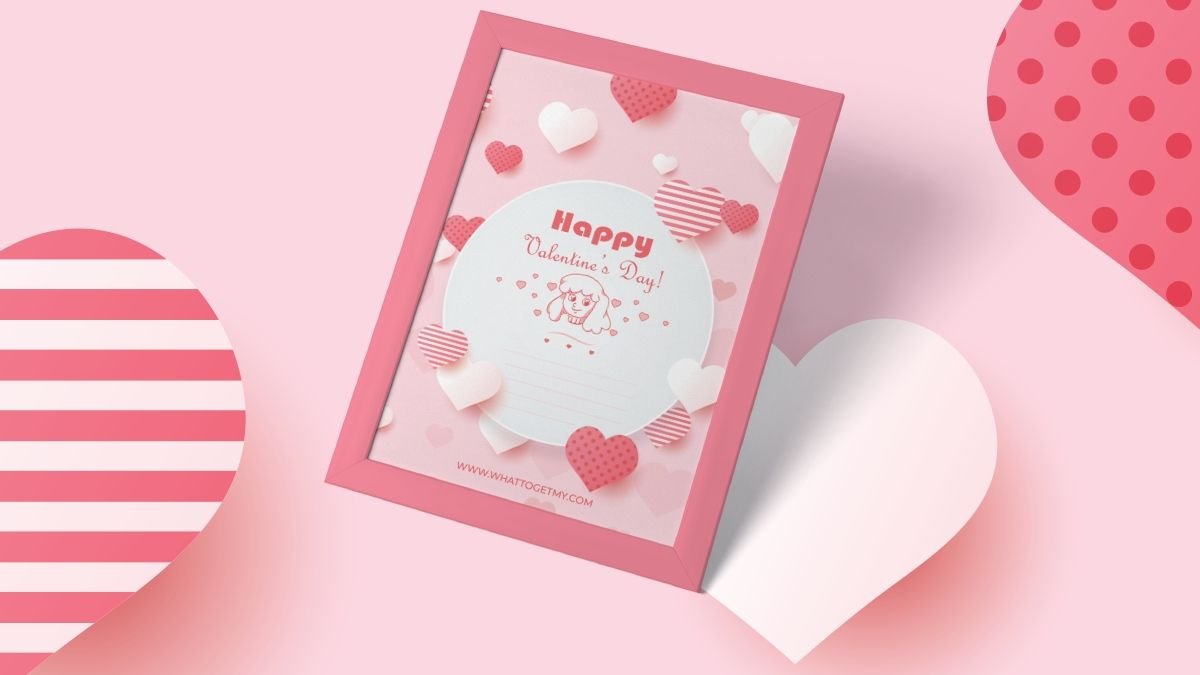 Free printable valentines day card for daughter
