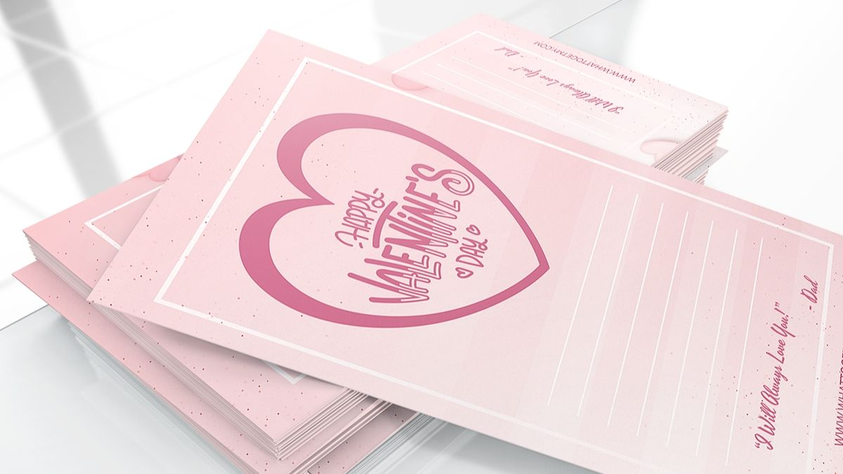 Free printable valentines day cards for my daughter