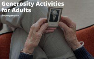 Generosity Activities for Adults