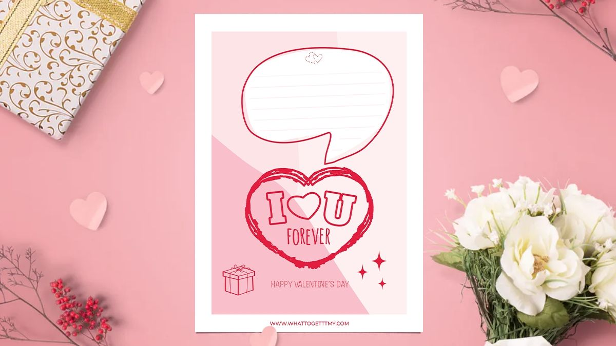 Printable valentines day cards for girlfriend