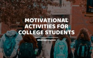 Motivational Activities for College Students