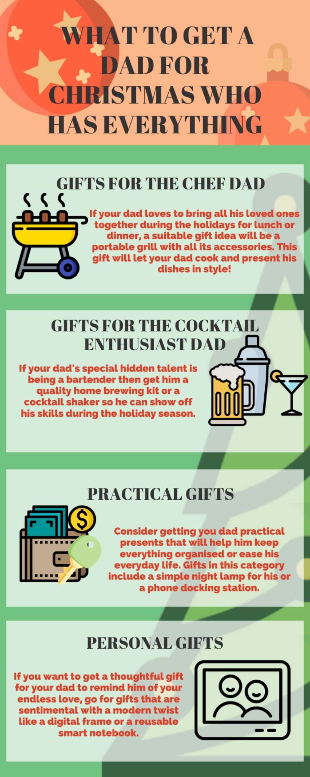 Gifts What to Get a Dad for Christmas Who Has Everything