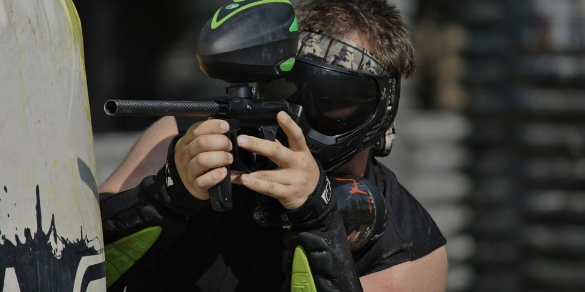 Paintball (Who wouldn't like the idea to play paintball for his birthday)