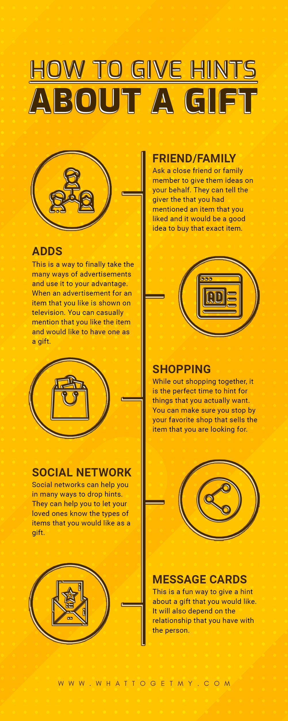 Infographic How to Give Hints About a Gift-min