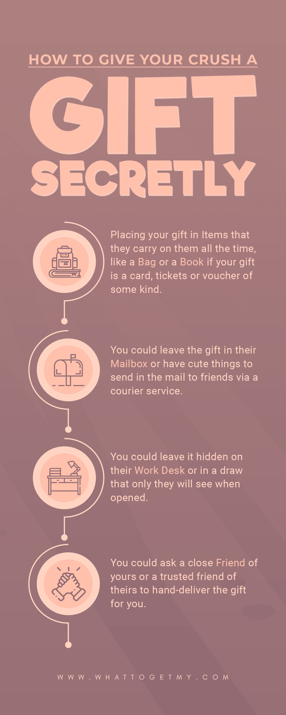 Infographic How to Give Your Crush a Gift Secretly-min