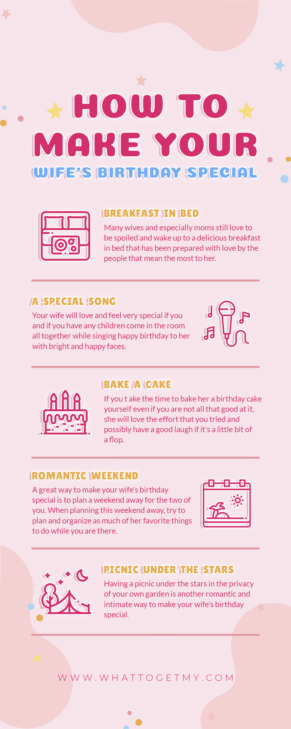 Infographic How to Make Your Wife's Birthday Special-min