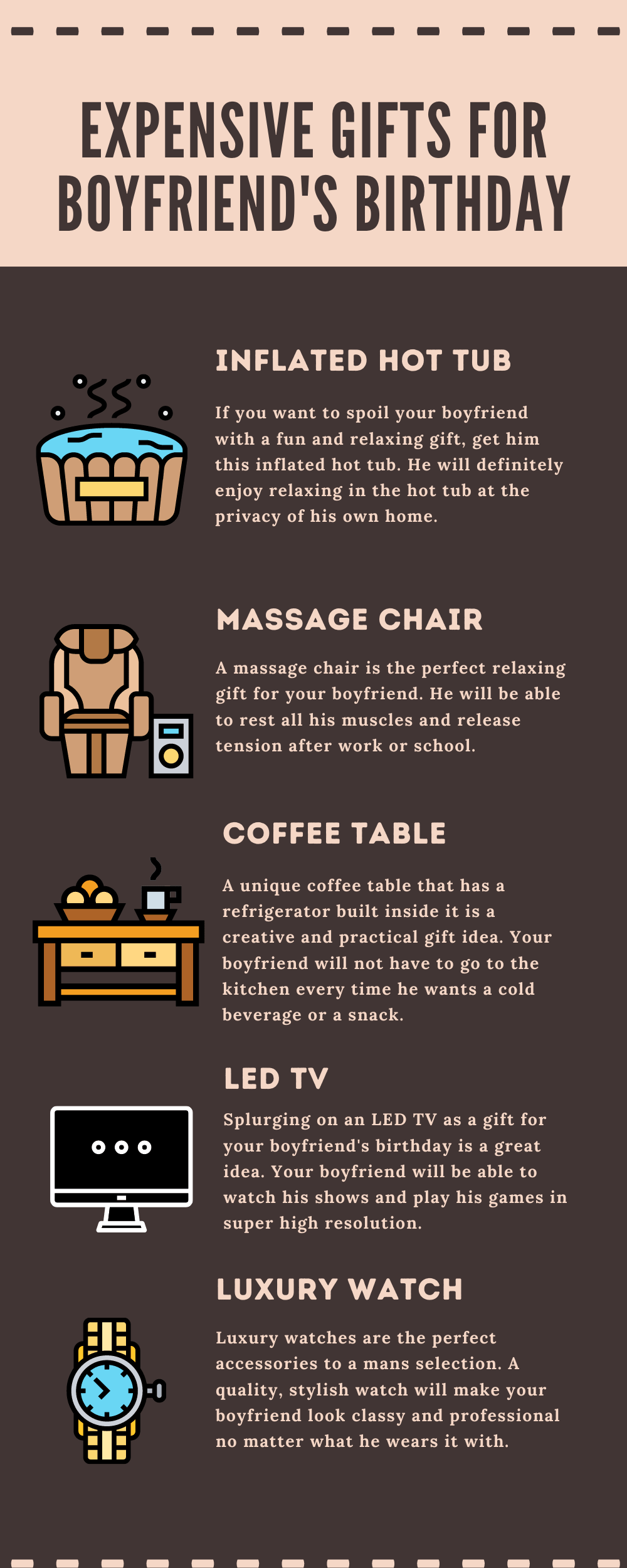 Infographic EXPENSIVE GIFTS FOR BOYFRIEND'S BIRTHDAY-min