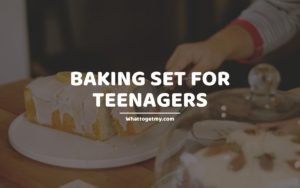 Baking Set For Teenagers