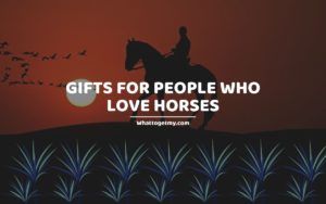 Gifts for People Who Love Horses