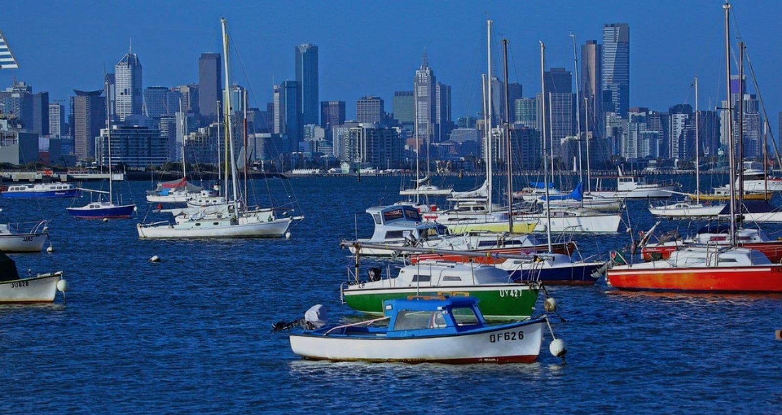 MELBOURNE australia-cityscape