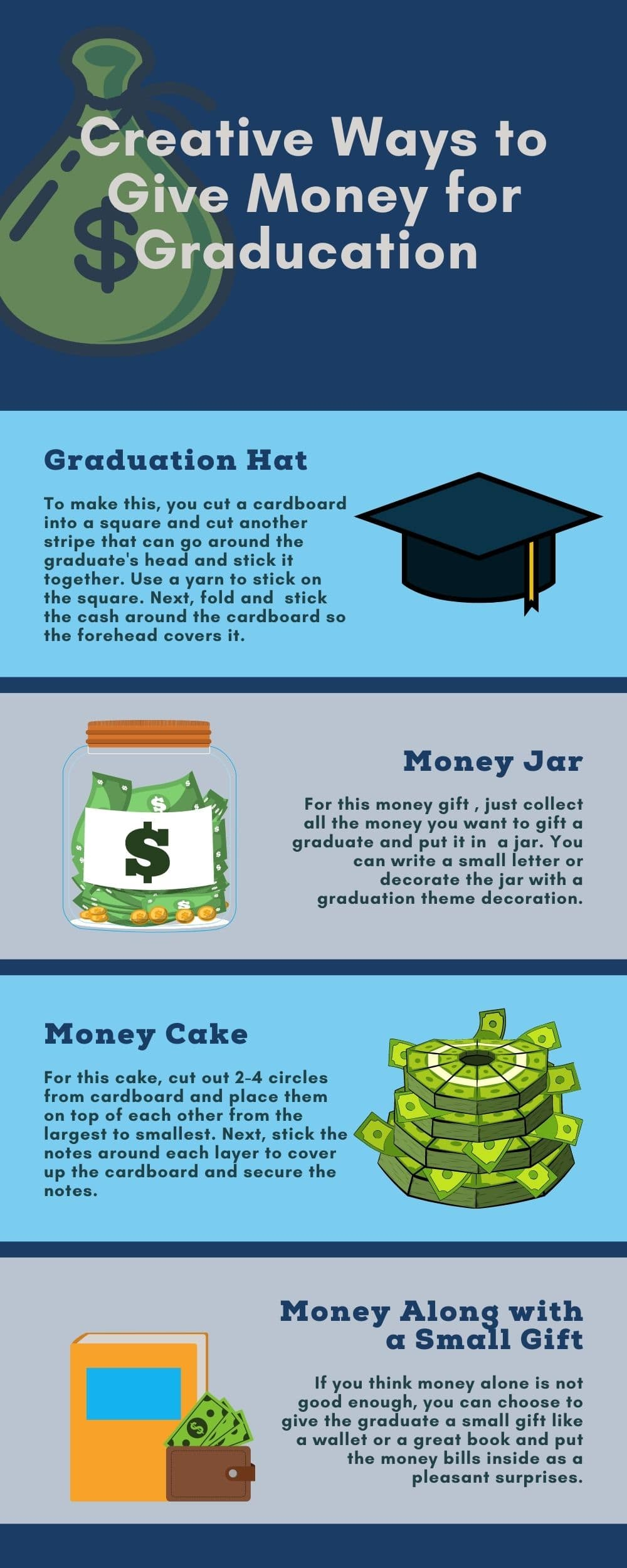 Creative Ways to Give Money for Graducation