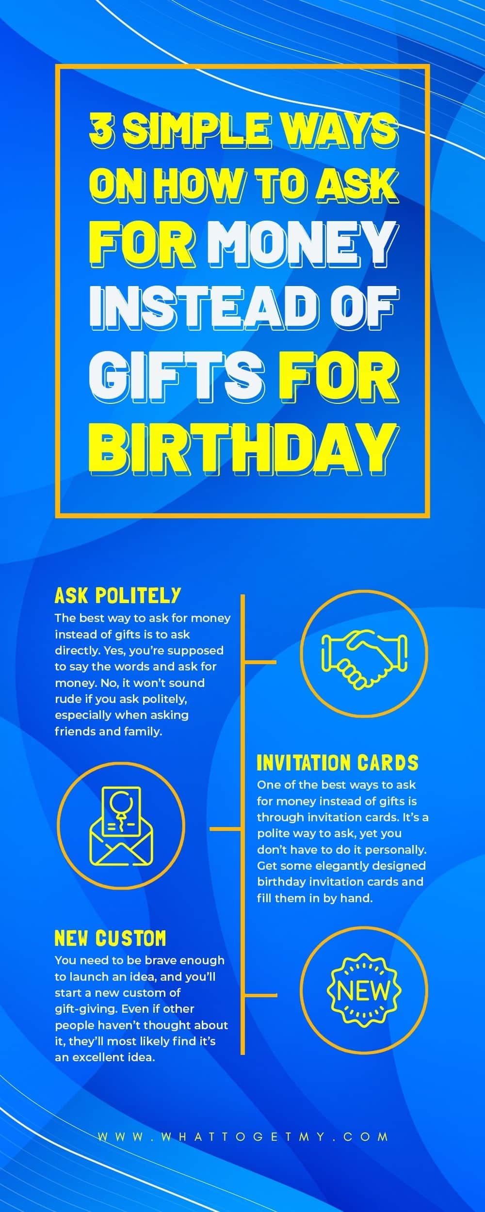 Simple Ways on How to Ask for Money Instead of Gifts for Birthday