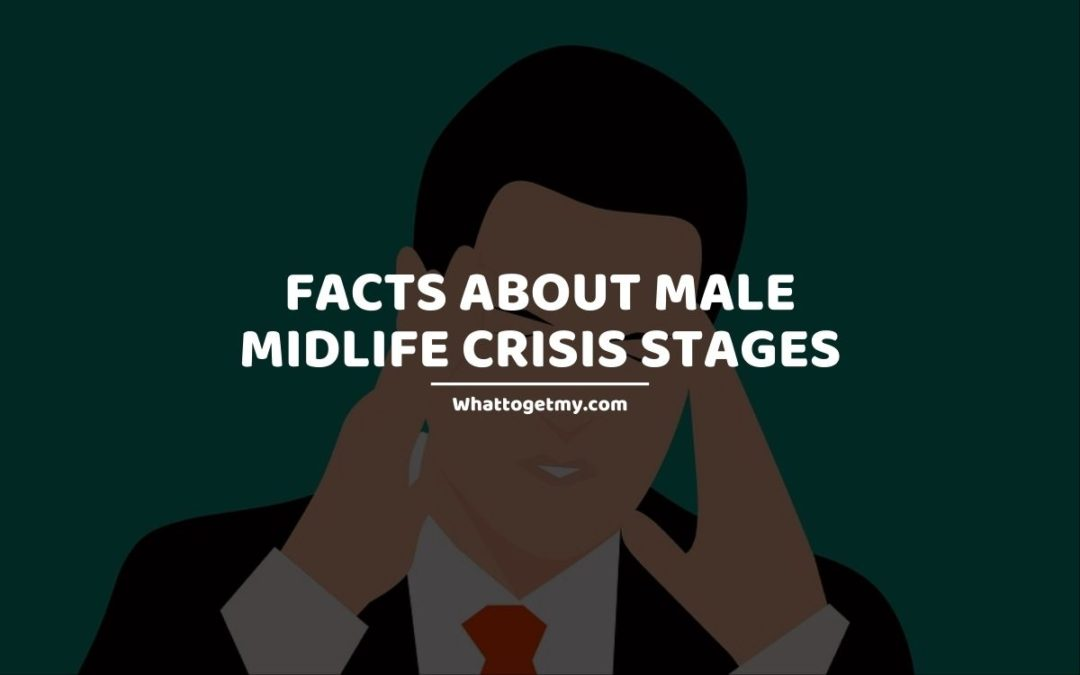 Male midlife crisis stages