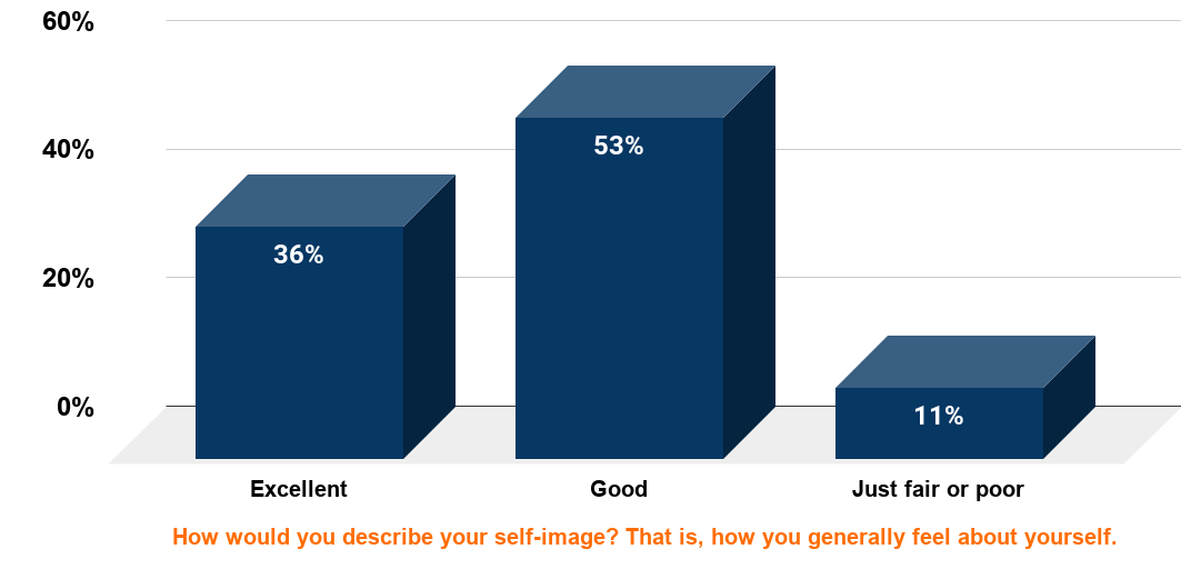 Health, Age, and Income Factor Into Americans' Self-Image (2003)