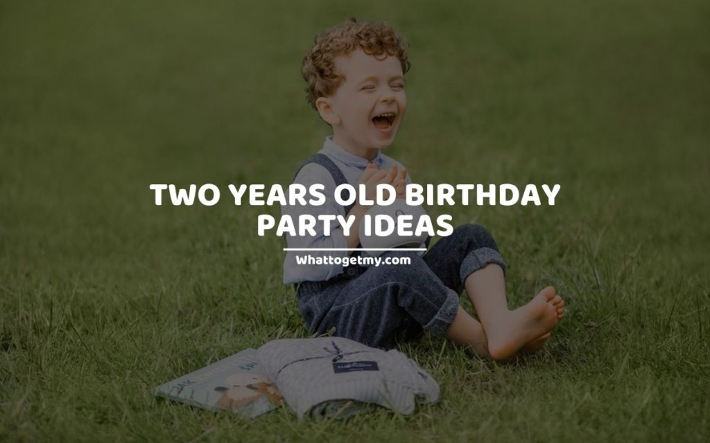 Two Years Old Birthday Party Ideas