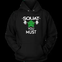 squat you must tshirt