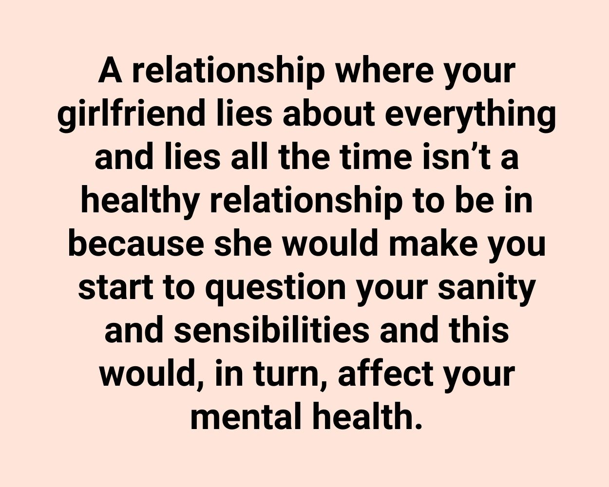To girlfriend a what with do lying Adolescent Lying: