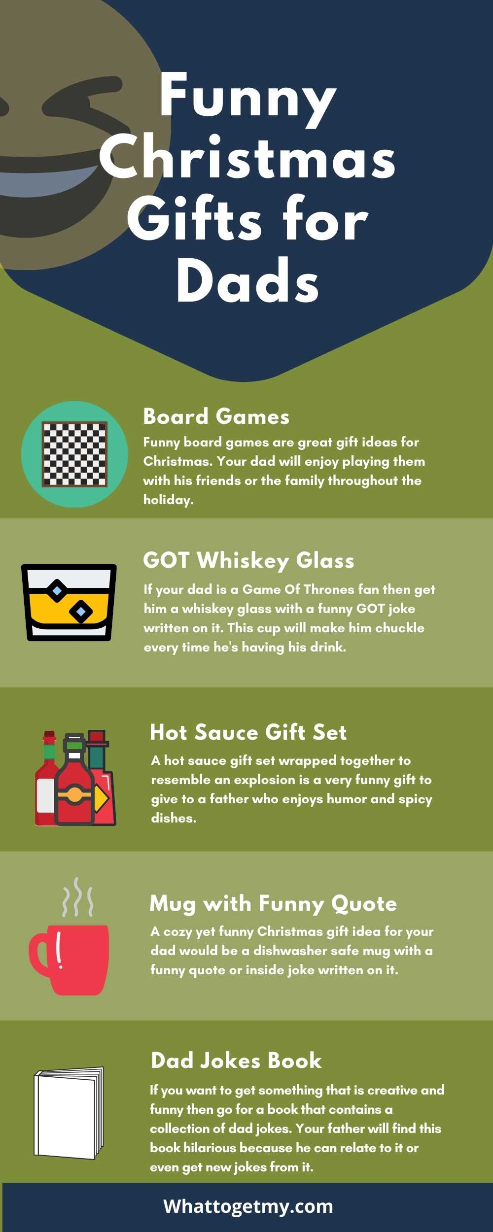 Funny  christmas gifts for dads