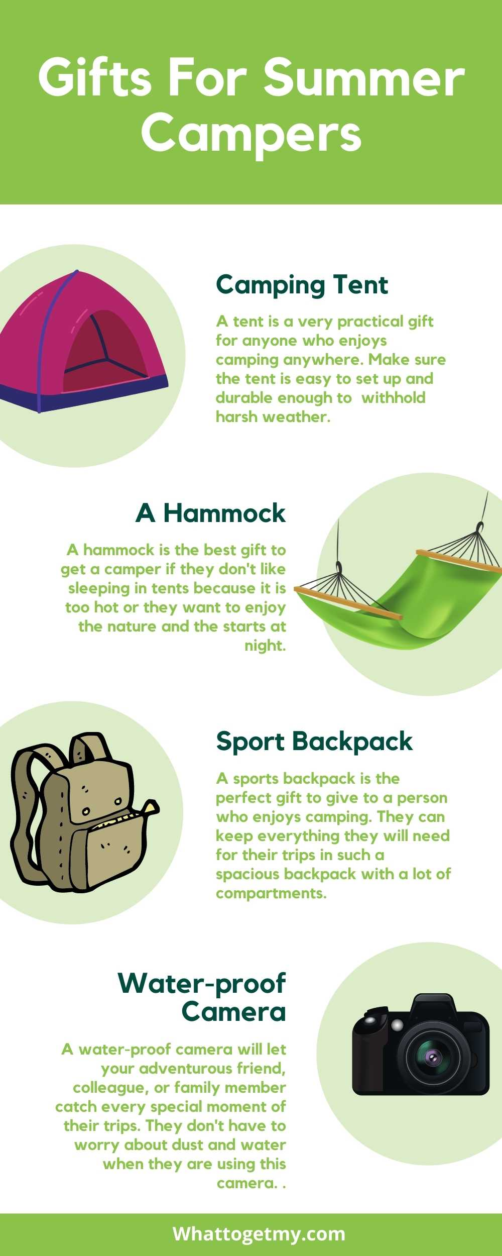 Gifts For Summer Campers