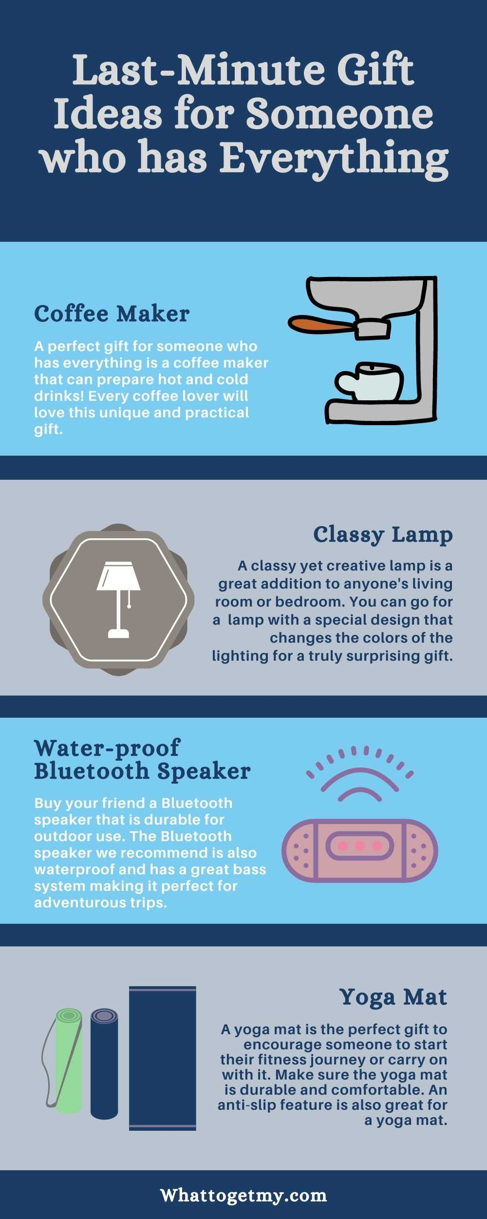 Last minute gift ideas for someone who has everything