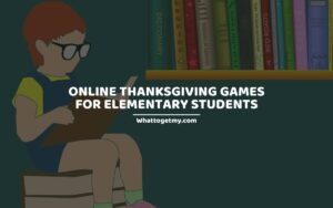 Online Thanksgiving Games for Elementary Students