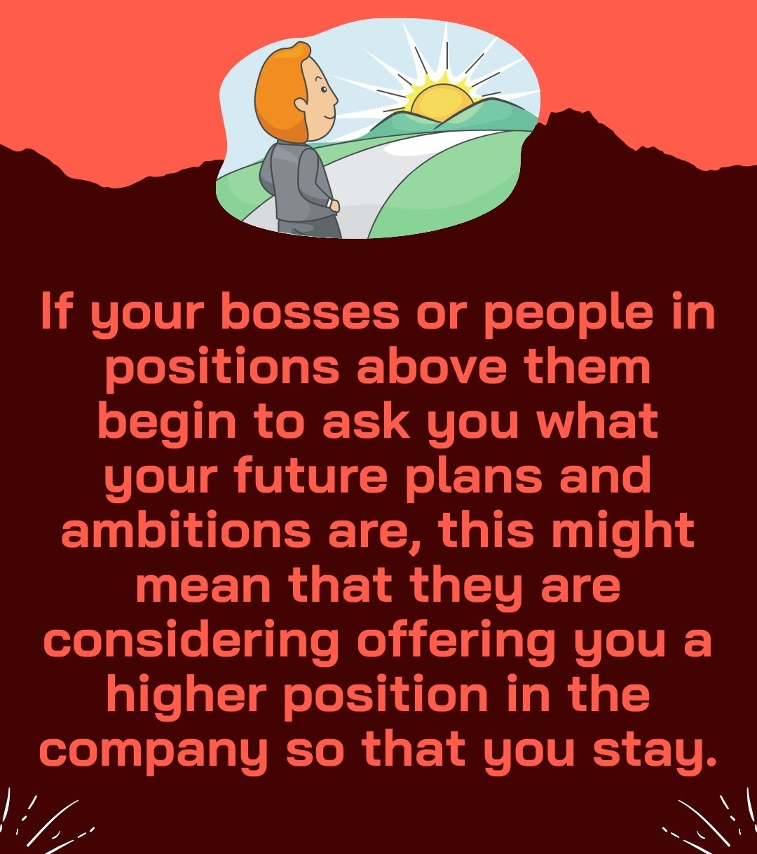If your bosses or people in positions above them begin