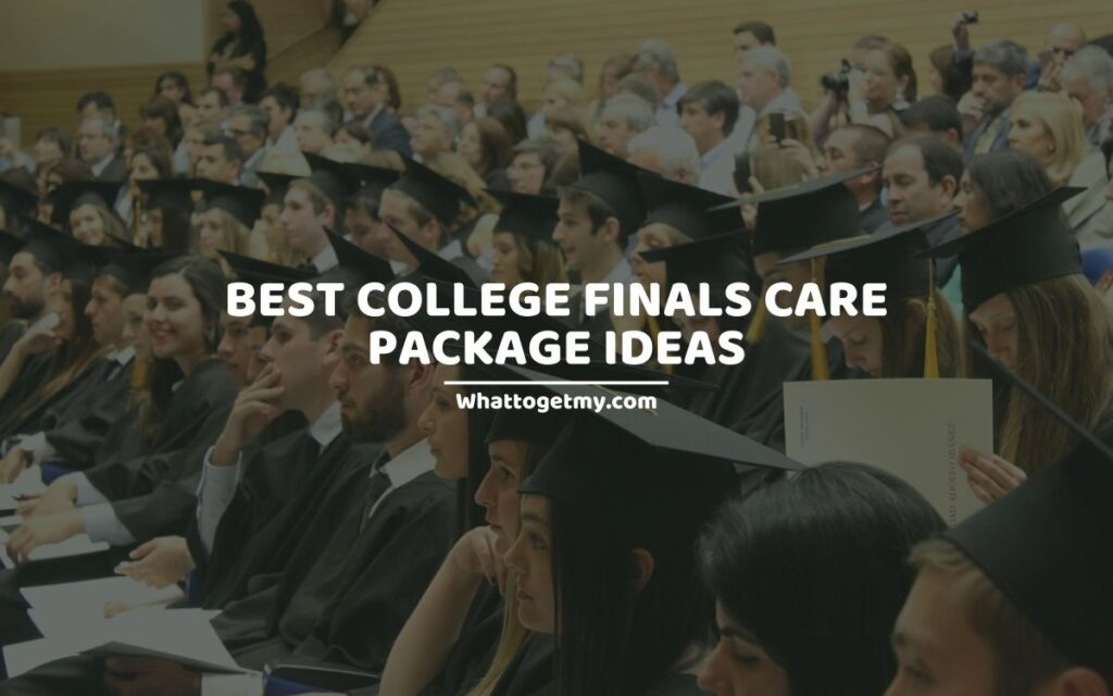 COLLEGE FINALS CARE PACKAGE IDEAS